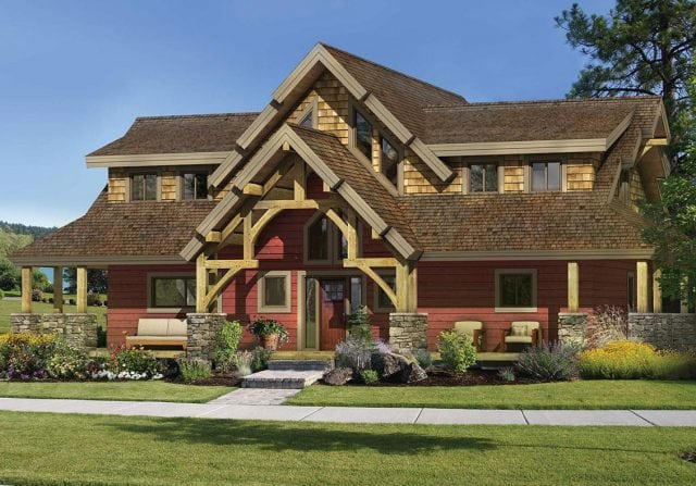 Applewood Exterior Timber frame