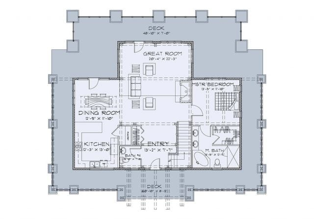 Applewood Floor plan