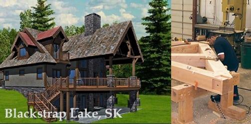 Canada - blackstrap lake construction