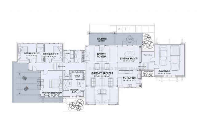 Barharbor Floor plan