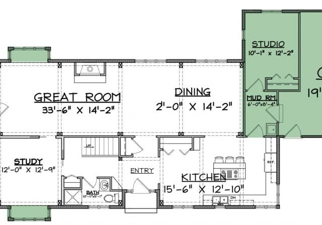 Cotswald floor plan