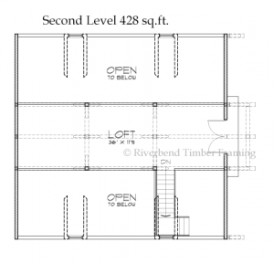 Horse Stable Floor Plan -