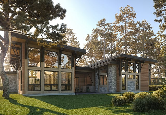 Wright Timber Frame Concept