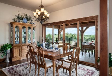 oklahoma-city-dine - timber frame porch