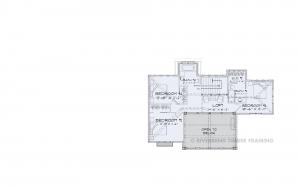 Villa del Marche - Villa del Marche 2nd floor plan