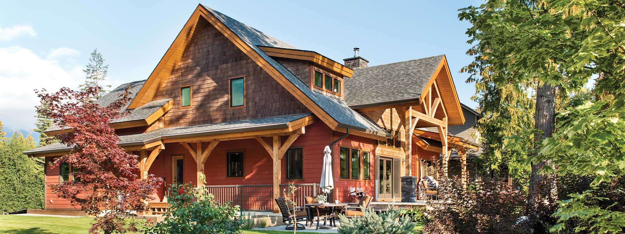 Home - Custom timber home Canada