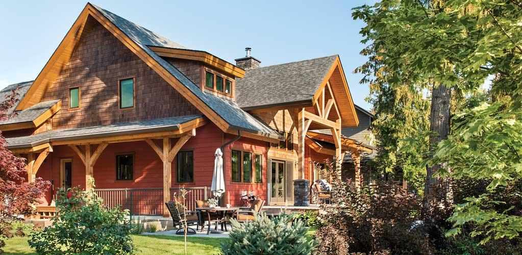 Canada Timber Frame Home