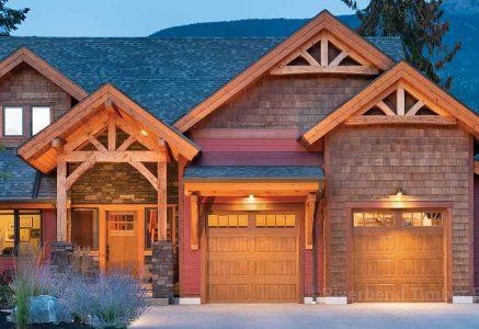 Revelstoke timber frame home