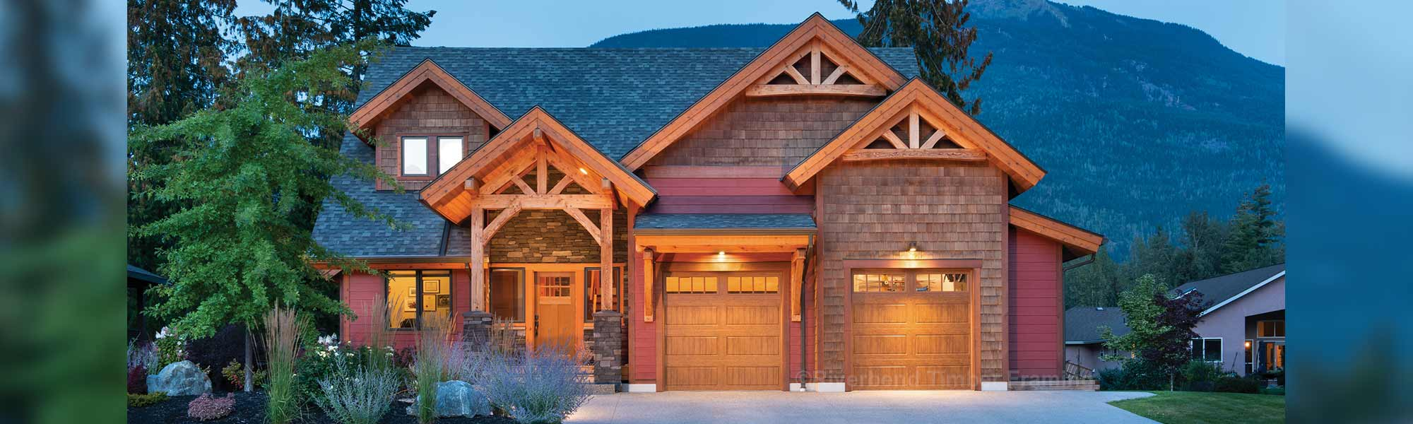 Revelstoke timber frame home