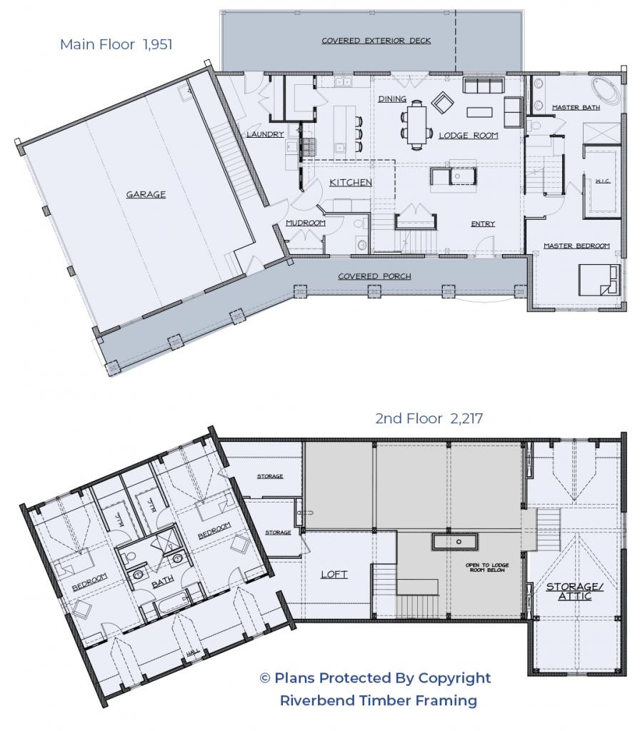 Quebec Farmhouse Plans