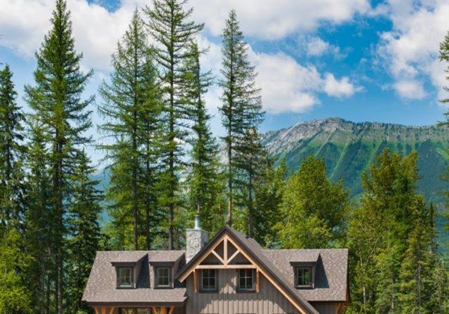 timber frame home british columbia
