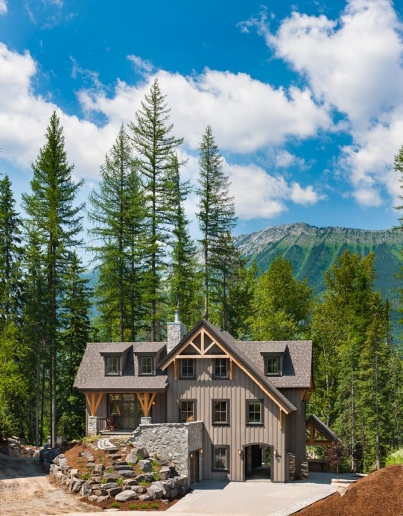 timber frame home british columbia
