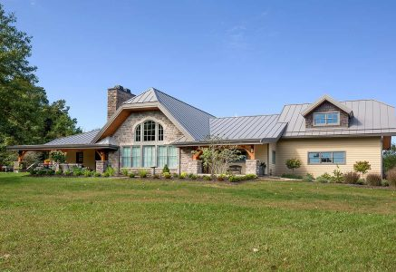 Marysville-exterior - ohio timber frame home