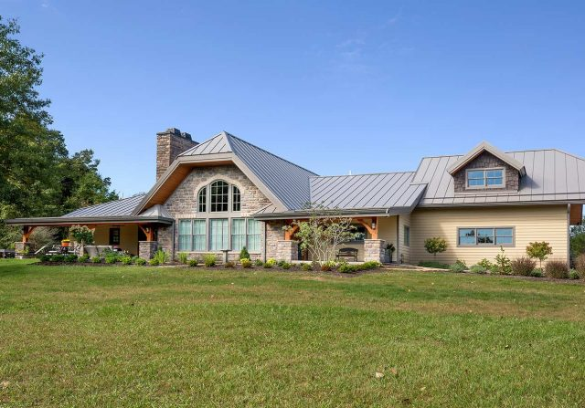 ohio timber frame home