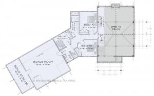Glen Arbor - Glen Arbor 2nd floor plan