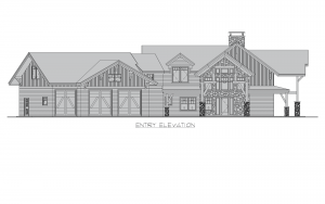 Glen Arbor - Glen Arbor front elevation