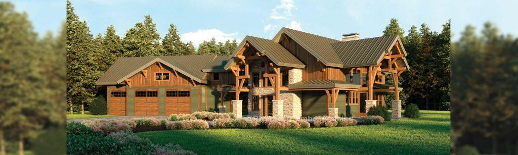 Glen Arbor timber rendering