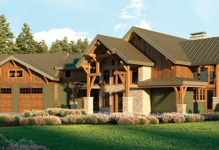 Glen Arbor timber rendering