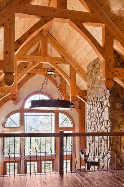 Timber Trusses Help Define the Space | Craftsmanship