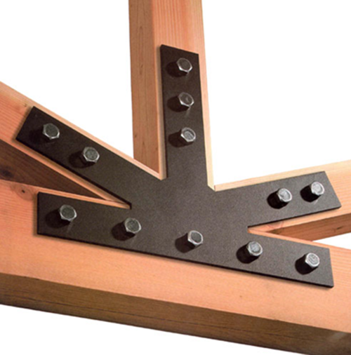 post and beam plate
