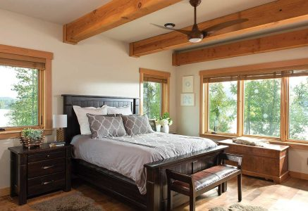 prince-george-bedroom - timber frame bedroom