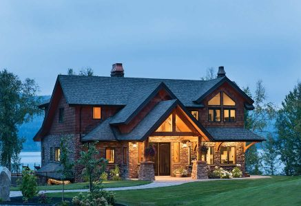 prince-george-exterior - Prince George Timber Frame Home