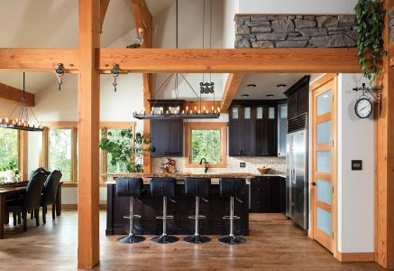 prince-george-kitchen - timber frame kitchen