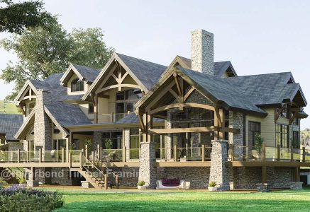 Timber Frame Home Plans | Timber Frame Plans by Size