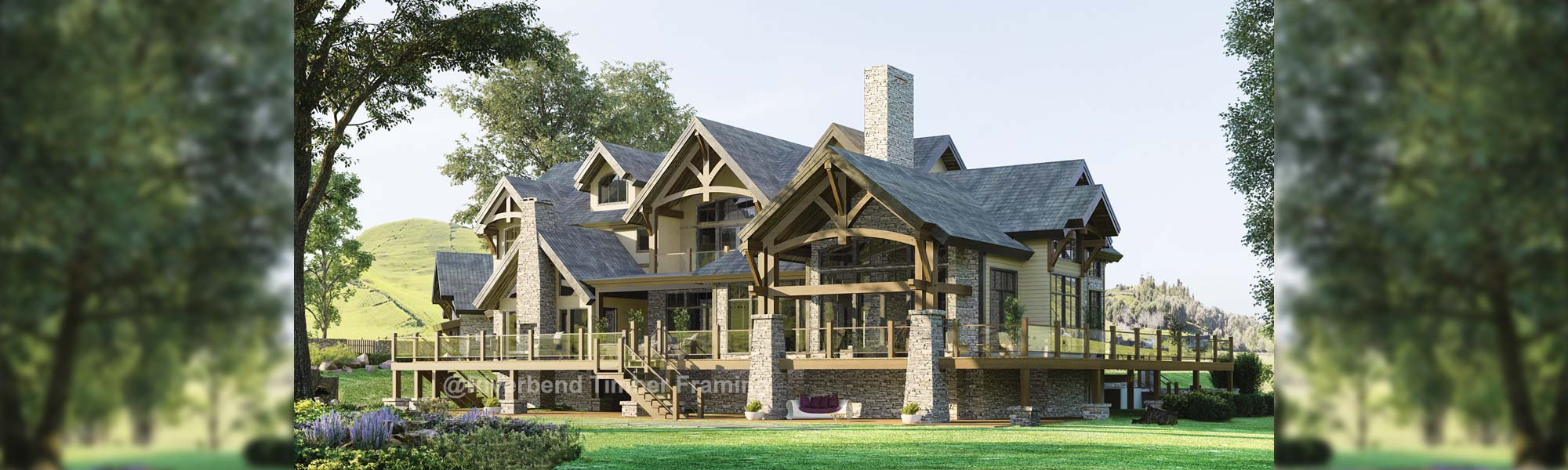 Summerhill Timber Frame Home