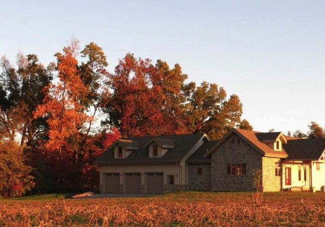 kentucky timber frame home by riverbend