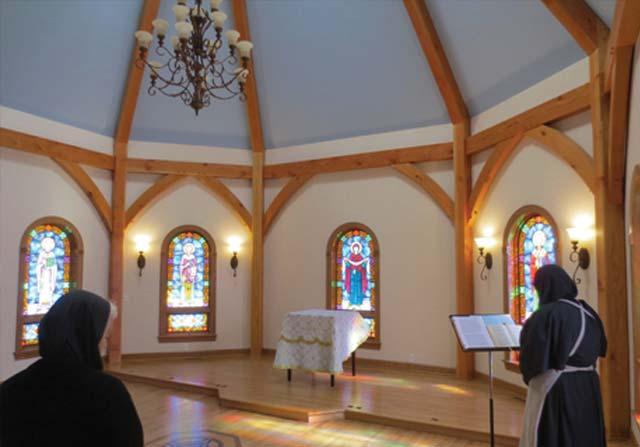 Custom Timber Framing - timber frame church