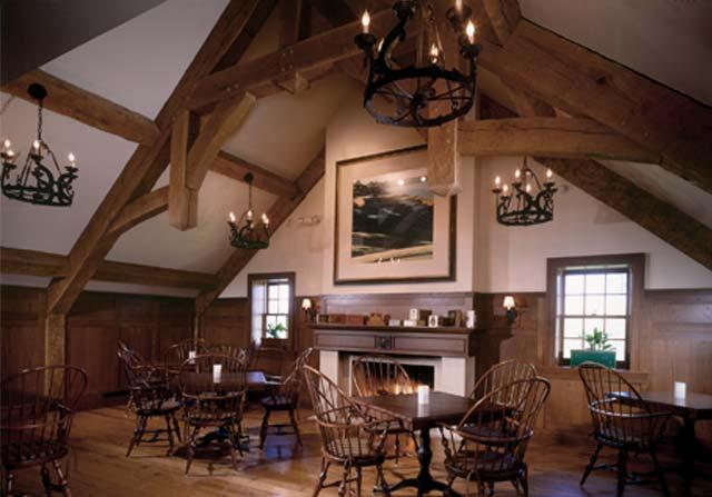 Custom Timber Framing - Commercial Timber Framing