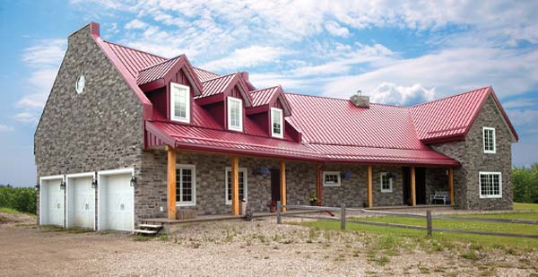 Barn Style Timber Homes - Barn style home photo