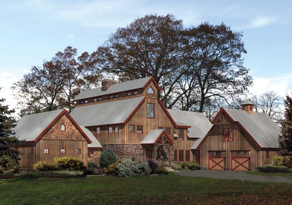 Barn Style Timber Homes - barn style floor plans