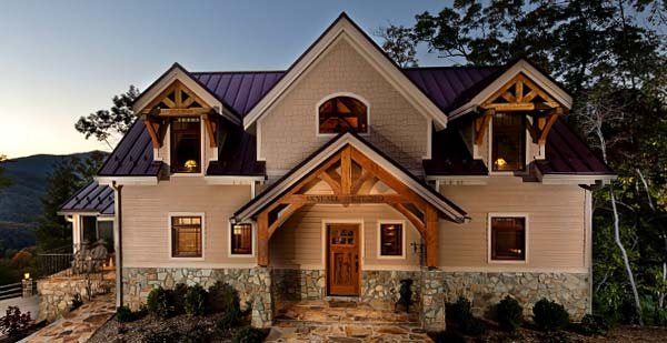 Traditional Timber Frame Homes - traditional timber frame home