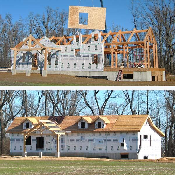 Timber SIP Building