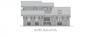 Finley - finley entry elevation