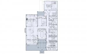Finley - Main floor plan