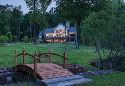 North Georgia -bridge - timber frame exterior