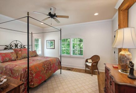 North Georgia master bedroom - master bedroom