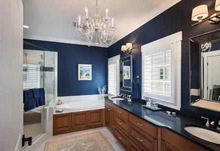 North Georgia master bath - master bath timber home