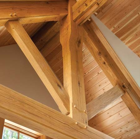 Timber Frame Homes in Canada -