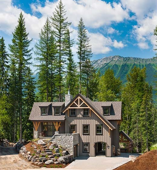 Canadaian Timber Frame Home