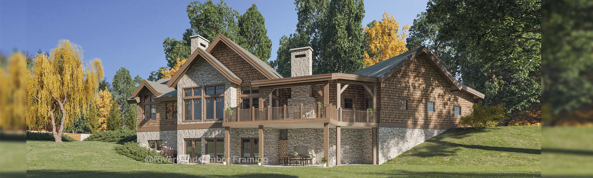 Fraser Traditional Timber Frame Home