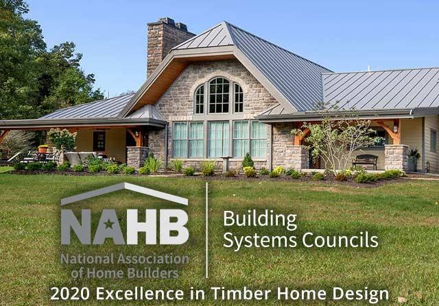 Awards - NAHB Award best timber home design