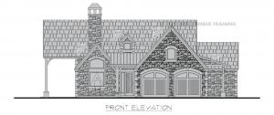 Pembroke - Pembroke entry elevation