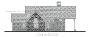 Pembroke - Pembroke rear elevation