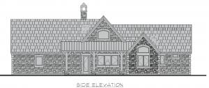 Pembroke - Pembroke side elevation