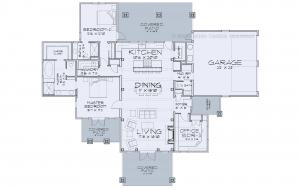 Pembroke - Pembroke Main Floor plan