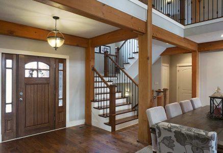 Murrysville-Entry - Timber Frame Entry